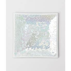 【Kahiko】ビーチガラスタイルトレイ ホワイト
