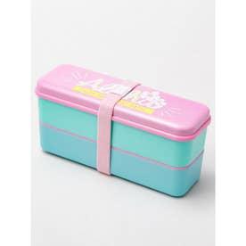 【Kahiko】Alohaスリムランチボックス ピンク