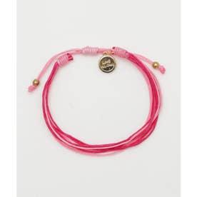 【Kahiko】LIVE ALOHA GIVE ALOHA PROJECT チャリティブレスレット ピンク