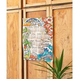 【Kahiko】2022年ジュートカレンダー Life is Aloha レインボー