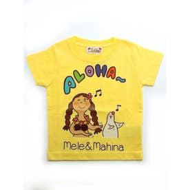 【kahiko】メレ&マヒナ KID'S Tシャツ90cm イエロー