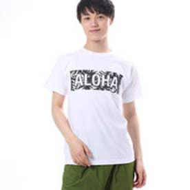 【Kahiko】ALOHAロゴメンズTシャツM ホワイト