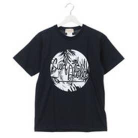【Kahiko】Surf Aloha ロゴメンズTシャツM ネイビー