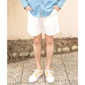 【Kahiko】ヘレオリMEN'Sハーフパンツ ホワイト