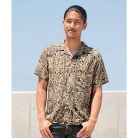 【Kahiko】ティタパMEN'Sアロハシャツ ブラック