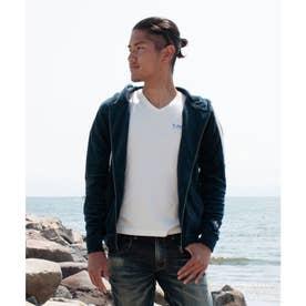 【Kahiko】オキラナMEN'Sジップアップパーカー ネイビー