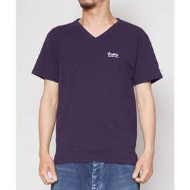【Kahiko】ヘレスラブカットソーメンズTシャツ ネイビー