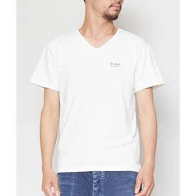【Kahiko】ヘレスラブカットソーメンズTシャツ ホワイト