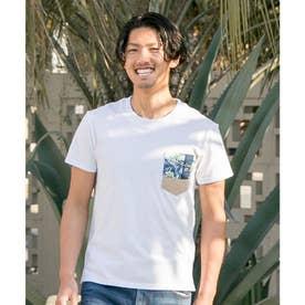 【Kahiko】アエカポケットメンズTシャツ ホワイト