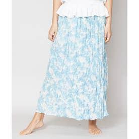【Kahiko】パムペールロングスカート ブルー