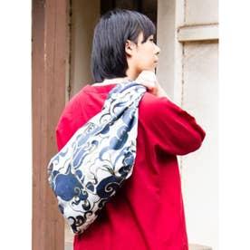 【カヤ】たすきバッグ 雲 ホワイト