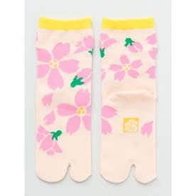 【カヤ】舞い桜チビ足袋型くつ下15~17cm その他10