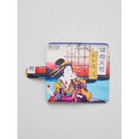 【カヤ】iPhone8/7兼用 手帳型ケース 和モダンプリント その他4