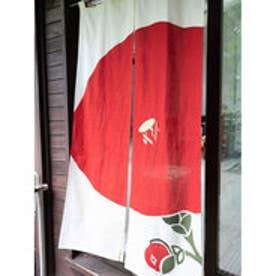 【カヤ】和の暖簾 レッド