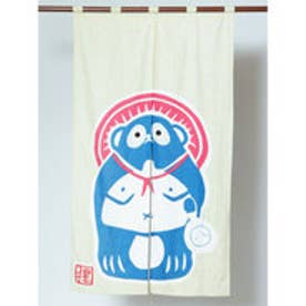 【カヤ】日本の民芸 長暖簾 ベージュ