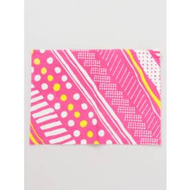 【カヤ】幾何学模様プレイスマット ピンク