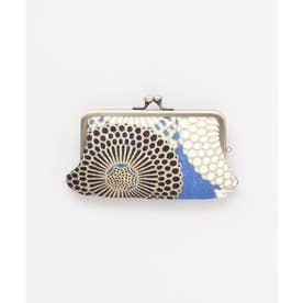 【カヤ】ーENBIー 艶美和紙がま口カードケース ブルー