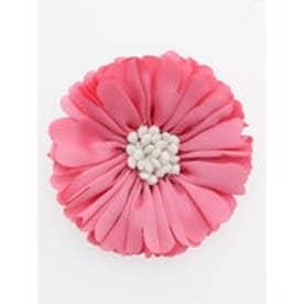 【カヤ】花サテンコサージュ ピンク