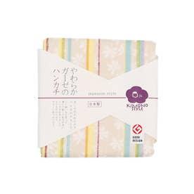 【カヤ】japanese style やわらかガーゼのハンカチ 和モダン その他3