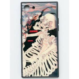 【カヤ】iPhone8/7兼用ガラス製スマホケース 和モダン柄スマホくるみ その他2