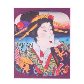 【カヤ】NIPPON STICKER -OIRAN-花魁(おいらん)カヤ姐 カラフル