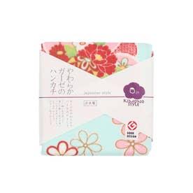【カヤ】japanese style やわらかガーゼのハンカチ 花てまり その他