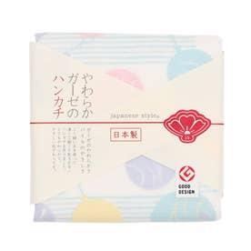 【カヤ】japanese style やわらかガーゼのハンカチ 水ヨーヨー その他