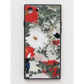 【カヤ】iPhone8/7兼用ガラス製スマホケース 和モダン柄スマホくるみ その他20