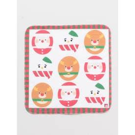【カヤ】クリスマスだるま はんかちタオル マルチ