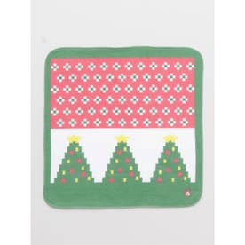 【カヤ】クリスマスツリー はんかちタオル マルチ