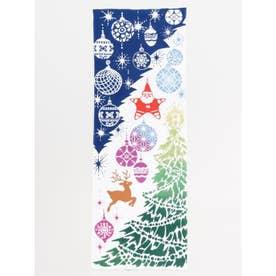 【カヤ】注染手ぬぐい クリスマスツリー マルチ