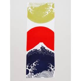 【カヤ】注染手ぬぐい 波と富士山 ブルー