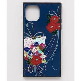 【カヤ】iPhone11 ガラス製スマホケース 和モダン柄スマホくるみ その他9