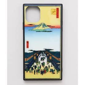 【カヤ】iPhone11 ガラス製スマホケース 和モダン柄スマホくるみ その他13