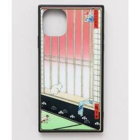 【カヤ】iPhone11 ガラス製スマホケース 和モダン柄スマホくるみ その他16