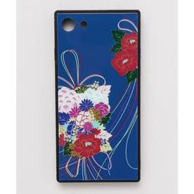 【カヤ】iPhone SE/8/7兼用ガラス製スマホケース 和モダン柄スマホくるみ その他24
