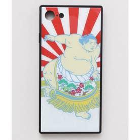 【カヤ】iPhone SE/8/7兼用ガラス製スマホケース 和モダン柄スマホくるみ その他27
