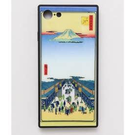 【カヤ】iPhone SE/8/7兼用ガラス製スマホケース 和モダン柄スマホくるみ その他28