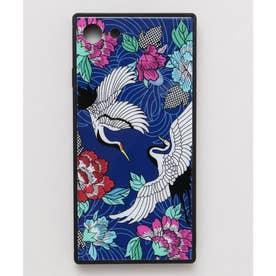 【カヤ】iPhone SE/8/7兼用ガラス製スマホケース 和モダン柄スマホくるみ その他29