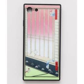 【カヤ】iPhone SE/8/7兼用ガラス製スマホケース 和モダン柄スマホくるみ その他31