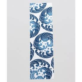 【カヤ】注染長尺手ぬぐい 浪紋 ブルー