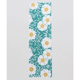 【カヤ】注染長尺手ぬぐい 梅の花 ブルーグリーン