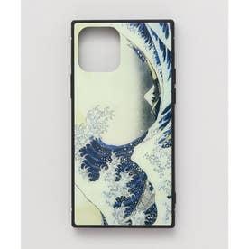 【カヤ】iPhone12 ガラス製スマホケース 和モダン柄スマホくるみ その他1