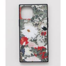 【カヤ】iPhone12 ガラス製スマホケース 和モダン柄スマホくるみ その他5