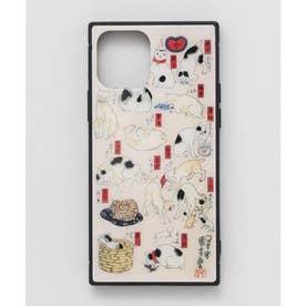 【カヤ】iPhone12 ガラス製スマホケース 和モダン柄スマホくるみ その他6