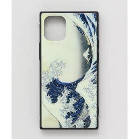 【カヤ】iPhone12mini ガラス製スマホケース 和モダン柄スマホくるみ その他1