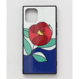 【カヤ】iPhone12mini ガラス製スマホケース 和モダン柄スマホくるみ その他3