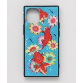 【カヤ】iPhone12mini ガラス製スマホケース 和モダン柄スマホくるみ その他4