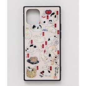 【カヤ】iPhone12mini ガラス製スマホケース 和モダン柄スマホくるみ その他6
