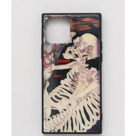 【カヤ】iPhone12 ガラス製スマホケース 和モダン柄スマホくるみ その他2